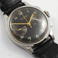 LEONIDAS - HEUER  Stahl Chronograph Herren aus den 1960er Jahren Landeron Kal248