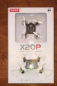 Syma X20P 4 Channel Remote Control Quadcopter Pocket Drone New