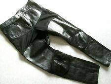 JUNYA WATANABE COMMES des GARCONS Leather Panel 3/4 Length Pants. Size S