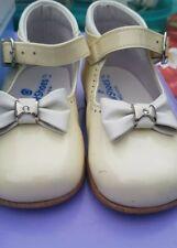 Spanish PETIT SHOES Baby Girls cream Shoes__EUR 21 Infant