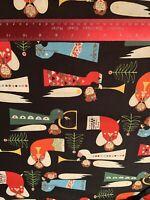 Alexander Henry Christmas Angels Cotton Fabric BTHY