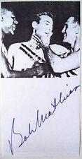 Bob Mathias 1948 & 1952 Olympic Decathlon Gold Medal Winner Original Autograph