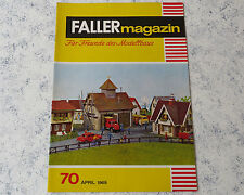 Faller AMS ---  Faller Magazin 70, April 1969 !
