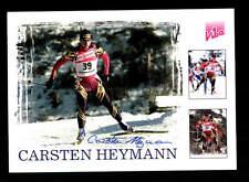 Carsten Heymann Autogrammkarte Original Signiert Ski Alpine + A 162629