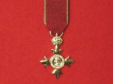 Miniature Member of the British Empire MBE Medal with Civil ribbon BRAND NEW