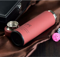 500ml Travel Stainless Steel Coffee Bottle Thermos Vacuum Insulated Cup Mug