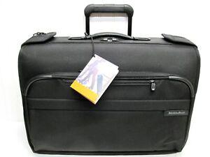 Briggs & Riley U174-4 Carry on WHEELED GARMENT BAG Luggage Mint +Tags!