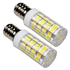 2-Pack E12 110V LED Bulb Cool White for Whirlpool 22002263 Refrigerator / Dryer