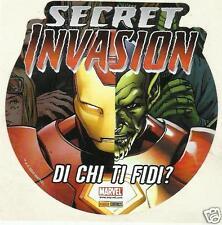 """MARVEL SECRET INVASION ADESIVO: IRON MAN / SKRULL """"Di chi ti fidi?"""""""