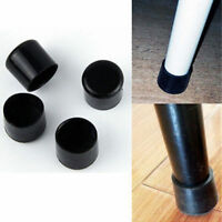 4Pcs/Set Rubber Protector Caps Anti Scratch Cover Chair Table Furniture Feet Leg