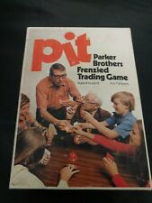 Pit Vintage Card Board Game Parker Brothers Bid Trade Commodities 1973 No. 661
