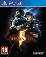 Resident Evil 5 HD Remake PS4 BRAND NEW SEALED IN BOX - UK SELLER