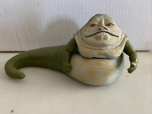 """Preowned Star Wars Black Series 6"""" Jabba the Hut Action Figure. Hasbro. 1998."""