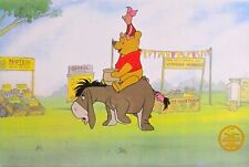 Disney Winnie The Pooh Limited Edition Serigraph Sericel Animation Art Cel