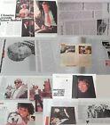 ROBERT REDFORD_1984-1988_clippings_lotto di articoli da riviste d'epoca