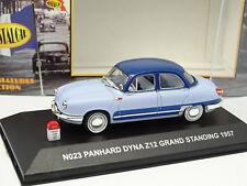 Nostalgie 1/43 - Panhard Dyna Z12 Grand Standing 1957 Bleue