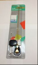 CORDLESS METAL REAL CAR CEL PHONE ANTENNA BLACK OR GOLD ANT-602 B /ANT-602 G