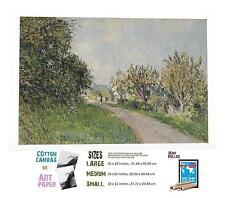 ALFRED SISLEY FRENCH IMPRESSIONIST 17 PATH NEAR SEVRES ART
