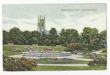 Yorkshire - Huddersfield, Greenhead Park - 1900's Star Series Postcard