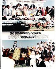 """1987 - ALYSHEBA - 3 Photo Preakness Stakes Composite - 8"""" x 10"""""""
