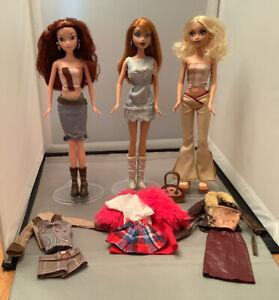 PC5 - 3 Dressed My Scene Dolls RARE!!!  Kennedy, Kenzie & Chelsea - Collectors