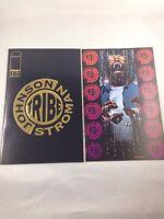 TRIBE - Image Comics - VOL 1 - #1 & #2 1993  GOLD FOIL JOHNSON STROMAN