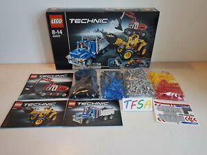 LEGO Technic 42023 Construction Crew complet notices et boîte