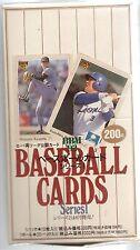 1992 BBM Japanese Baseball Cards Series 1 Sealed Box W/ Receipt! VERY RARE BOX!!
