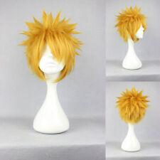 Ladieshair Cosplay Wig Perücke blond 30cm glatt NARUTO Uzumaki Karneval F7T