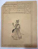 Indian Ancient Print of Maharajah Raja Dalpat Singh Ji Sahib Old Printed Litho