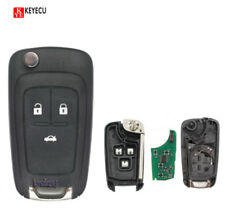3Button 433MHz ID46 Chip Remote Control Key Fob for Chevrolet Cruze Aveo 2010-15