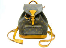 LOUIS VUITTON LV MINI MONTSOURIS BACKPACK HAND DAY BAG MONOGRAM M51137 USED