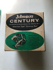New listing Vintage Johnson Century 100A Fishing Reel With Box