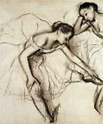 Wall Art Print CANVAS Giclee Decor Two Dancers Resting Edgar Degas Small 8x10