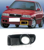 FOR SKODA FELICIA 98-01 NEW FRONT FOG LIGHT COVER GRILLE TRIM LEFT N/S BLACK