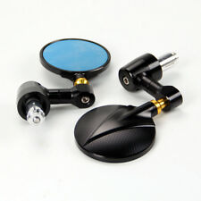 """Motorcycle Anodize Round 7/8"""" 22 Handle bar End Rearview Mirrors For Ducati/KTM"""