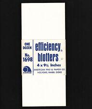 OPC Bundle of 11 Vintage Efficiency Blotters American Pad & Paper Co.