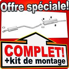 Citroen Xsara 1.4 1.6 1.8 97-99 Break Ligne pot D'échappement Silencieux 042