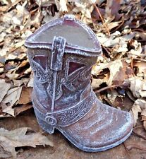 "Latex only small boot mold 3"" x 3"" x 1.25""W"