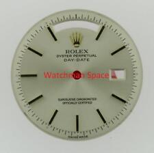 Original Vintage Men's Rolex DayDate 1803 Non-Quick Silver Stick 18KY #A28