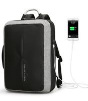 "Laptop Backpack with Anti-theft, USB Charging, TSA Lock, Business Men 15.6"" Bag"
