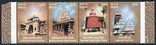 India 2015-2018a strip,MNH. Temples 2003.