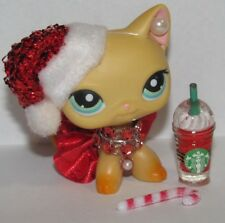 💕Littlest pet shop clothes LPS accessories Custom SANTA *Cat NOT INCLUDED*