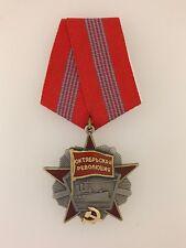 Soviet Russian USSR Order of the October Revolution award medal