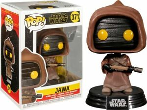 "STAR WARS CLASSIC JAWA 3.75"" POP VINYL FIGURE FUNKO 371 UK SELLER"
