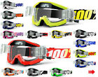 2020 100% PERCENT STRATA MOTOCROSS GOGGLES with GSO ROLL OFF CANISTERS mx mtb