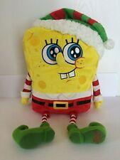 SpongeBob SquarePants 2014 Macys Holiday Talking Plush Toy Christmas Elf Costume