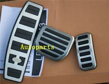 Fuel Brake Foot Rest AT pedals Pads Land Range Rover sport LR3 LR4 DISCOVERY 3 4