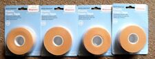 """Walgreens Water-Resistant Elastic Foam First-Aid Tape 1"""" x 5 Yards Surgical Lot4"""