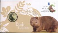 Australia Post and Perth Mint PNC 2013 $1 Bush Babies Wombat